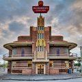 Рестораны Макдональдс с необычным дизайном и местом расположения
