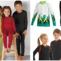 Практично, модно, комфортно: термобелье для детей и подростков