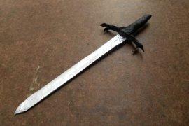 Как сделать меч из бумаги – пошаговая инструкция