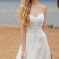 Идеальное свадебное платье для пляжной церемонии