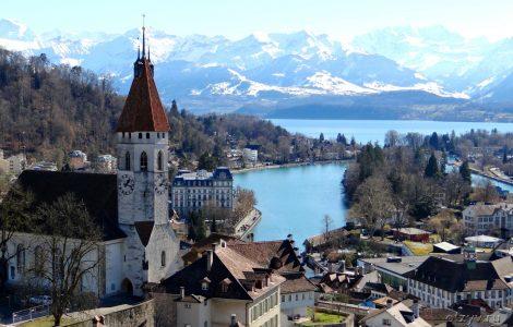 Швейцария. Город Тун. Топ 4 достопримечательностей