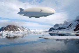 Самое большое воздушное судно в мире – дирижабль «Эйрлэндер-10»