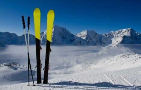 Катание на лыжах – любимое дело многих людей