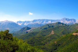 Самая высокая гора в Греции
