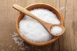 Сколько грамм соли в столовой ложке?