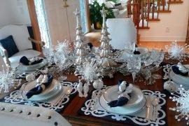 Как украсить новогодний стол просто и красиво?