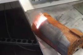 Лазер с легкостью счищает ржавчину