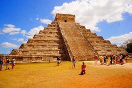 Священный город Чичен-Ица в Мексике