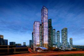 Самое высокое здание в Москве и России