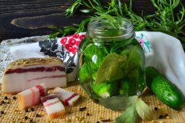 Как сделать малосольные огурцы – рецепт быстрого приготовления