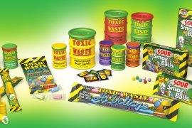 Самые кислые конфеты в мире