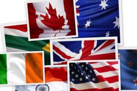 Семь самых больших по территории стран мира
