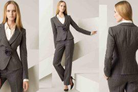 Женские деловые костюмы: стильные коллекции для холодного сезона