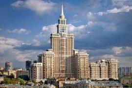 Самый высокий дом в Москве