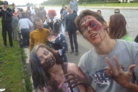 Зомби на улицах Питера