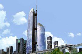 """""""Башня Федерация"""" – самая высокая башня Москва-сити"""