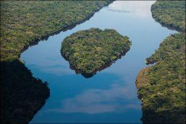 Самая полноводная река Африки