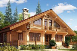 Экологичный дом из бруса: что нужно учитывать