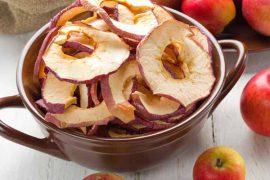 Как в домашних условиях сушить яблоки