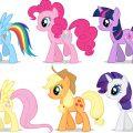 Как нарисовать пони – пошаговая инстркция
