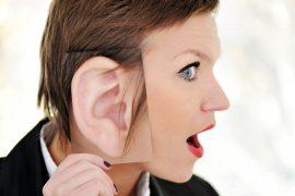 К чему горит левое ухо