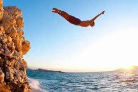 Самый высокий прыжок в воду в мире