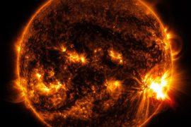 Самые мощные вспышки на Солнце в истории