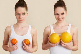 Как увеличить грудь в домашних условиях?