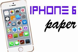 Как сделать телефон из бумаги – пошаговая инструкция с фото