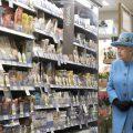 Королева Елизавета отправилась за покупками