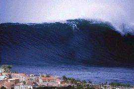 Самое большое в мире цунами