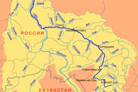 Самая широкая река России