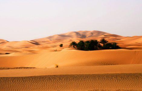 Самая маленькая пустыня в мире