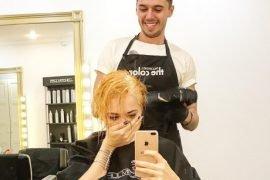 Анастасия Самбурская стала блондинкой