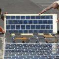 Во Франции строят дороги из солнечных батарей