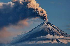 Самые высокие действующие и потухшие вулканы в мире